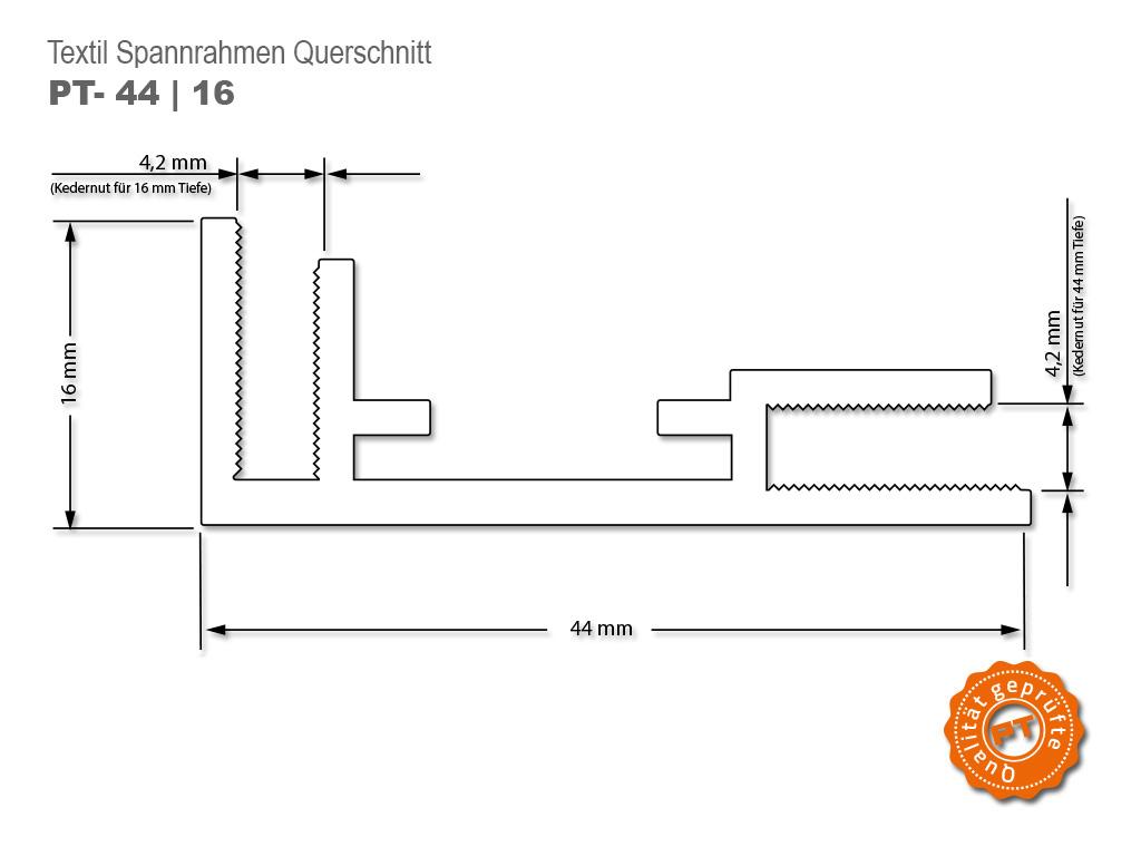 Flachkederrahmen Aluminium | Flachkederrahmen
